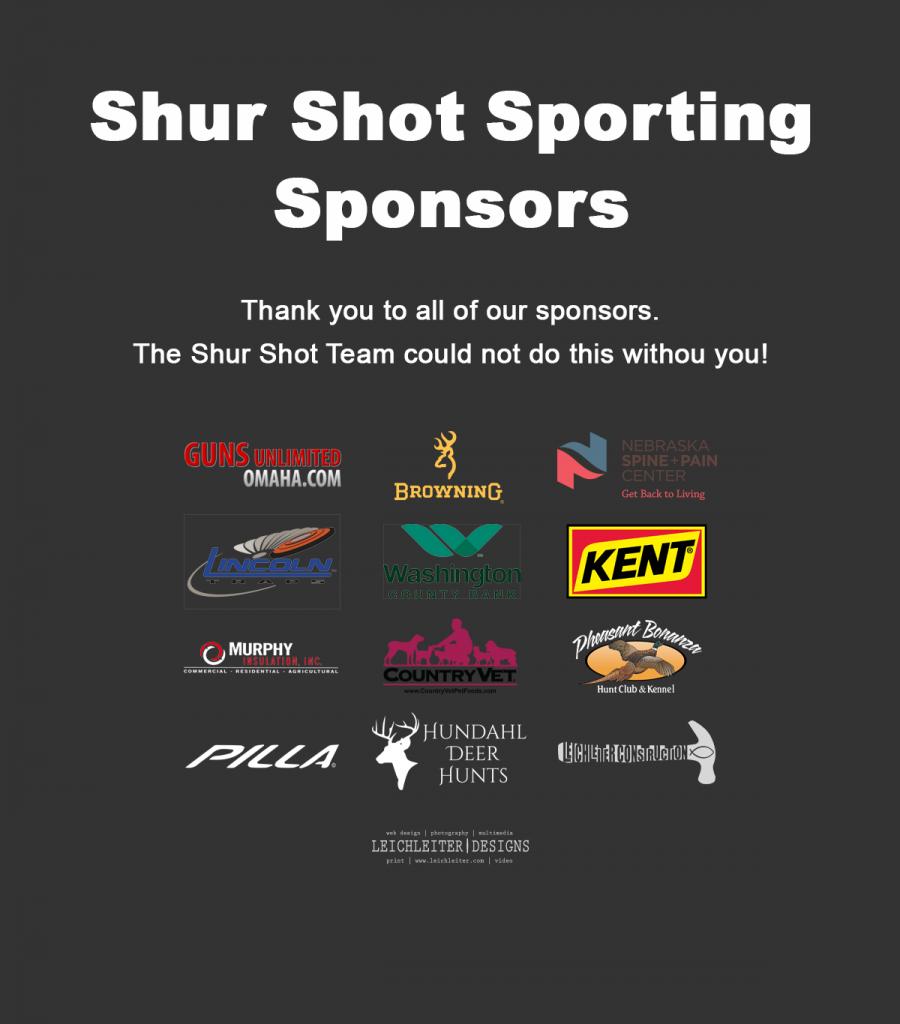 Shur Shot Sponsors 2018
