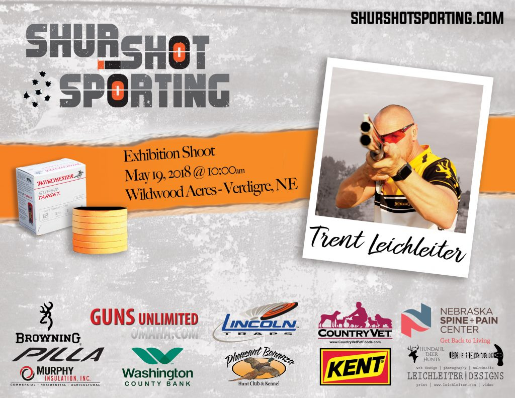 Exhibition Trick Shooting Event Flyer
